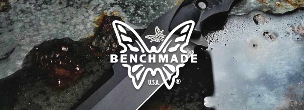 Benchmade knife and logo