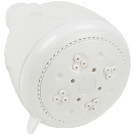 Home Impressions 3-Spray 1.75 GPM Fixed Showerhead, White