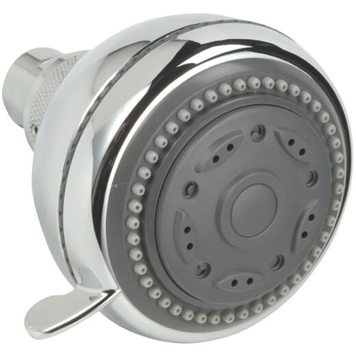 Home Impressions 3-Spray 1.75 GPM Fixed Showerhead, Chrome